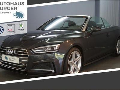 gebraucht Audi A5 Cabriolet sport 40TFSI S-tronic S line/LED/Navi