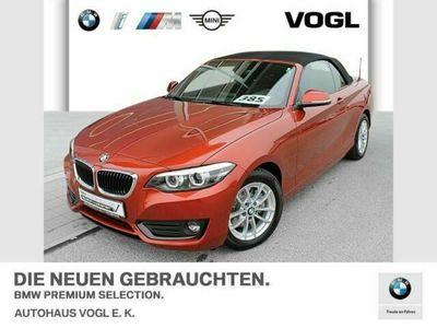 gebraucht BMW 220 i Cabrio Advantage Tempomat USB Shz PDC