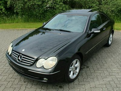 gebraucht Mercedes CLK200 Coupe S-Dach Klimaautom. Tempomat