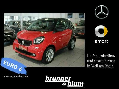 gebraucht Smart ForTwo Coupé Cool&Audio,LED,Panodach,Sitzheizg.
