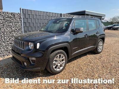 gebraucht Jeep Renegade 2019 SOFORT 1.3 S&S 6AT Limited Navi 8Zoll S.Hzg Klimaaut