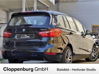 gebraucht BMW 220 Gran Tourer iA Sport Line AHK 7Sitze 399,-o.Anz Me