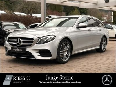 gebraucht Mercedes E220 T AMG Sport Com LED AHK Wide 360 Kamera