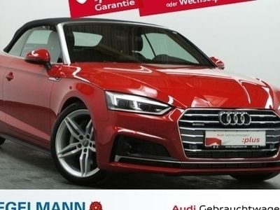 gebraucht Audi A5 Cabriolet Sport Cab. 3.0 TDI qu. tiptronic S-Line ACC