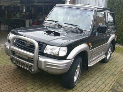 gebraucht Hyundai Galloper Bj2000 2,5L