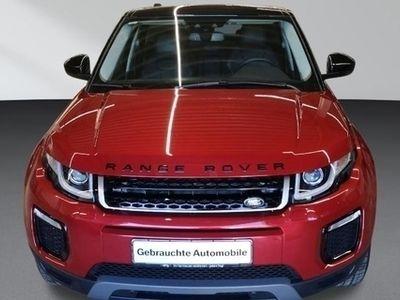 gebraucht Land Rover Range Rover evoque TD4 SE Sitzheizung DAB Navi