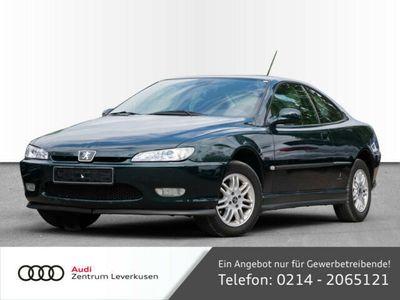 gebraucht Peugeot 406 Coupe 2.0 KLIMAAUTOMATIK