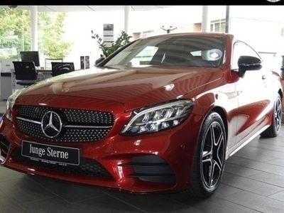 gebraucht Mercedes C300 Coupé AMG Line Night Sportabgas Navi LED
