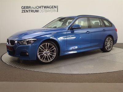 gebraucht BMW 320 i Touring Aut. M Sport +Leder+Navi++