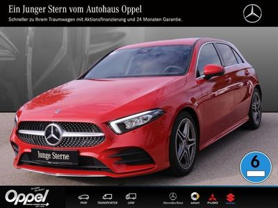 gebraucht Mercedes A200 AMG Line Klima+LED+Park-Ass.+Tempomat+MBUX
