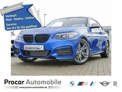 gebraucht BMW M240 xDrive Coupe Navi Prof. Glasd. RFK DAB