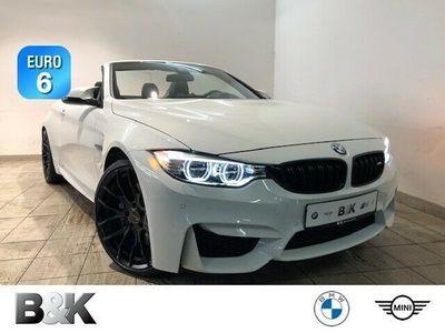 gebraucht BMW M4 Cabriolet Bluetooth Navi LED Vollleder Klima PDC