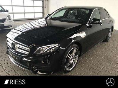 gebraucht Mercedes E220 4MATIC Limousine Comand+Spur-P.+360°+LED