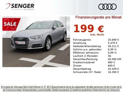 gebraucht Audi A4 Sport TFSI S tr. NAVI PDC PL GRA XENON