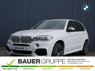 gebraucht BMW X5 M50 d Leder LED Navi Keyless AD Kurvenlicht e-Sitze HUD ACC Parklenkass. Rückfahrkam.