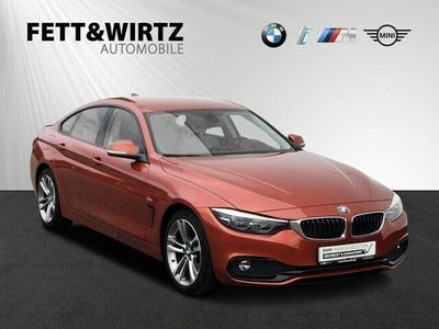 gebraucht BMW 420 Gran Coupé d Aut. Sport Line Navi HUD Leder
