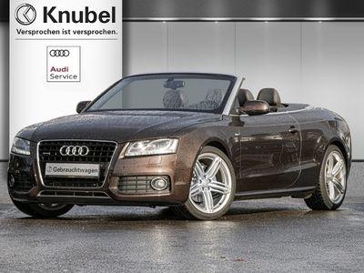 gebraucht Audi A5 Cabriolet 3.0 TDI qu S line Navi+Leder B&O Xenon 4x Sitzh.