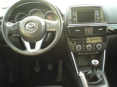 gebraucht Mazda CX-5 2.2D (150 PS) FWD 'Sendo', Plutossilber Met