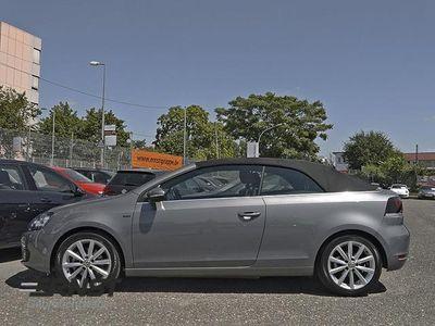 gebraucht VW Golf Cabriolet VI 1.6 TDI Lounge Navi GRA LM
