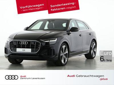 gebraucht Audi Q8 50 quattro INDIVIDUAL-KONTURSITZ B+O KAMERA - Leder,Klima,Sitzheizung,Alu,Servo,Standheizung,AHK,