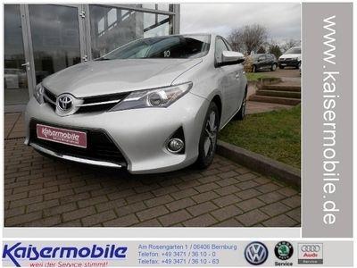 gebraucht Toyota Auris 1.33 Dual-VVT-i Edition KLIMA NAVI ALU