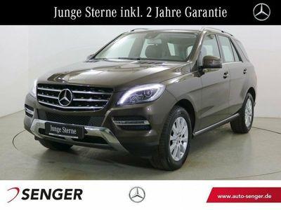gebraucht Mercedes ML250 BT 4M Airmatic Navi AHK Xenon-ILS Spur-P. Fahrzeuge kaufen und verkaufen