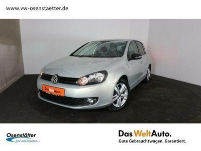 gebraucht VW Golf VI 1,4 TSI Match Navi Klima Sitzhzg. PDC LM