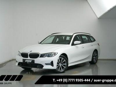 gebraucht BMW 318 d Touring SportLine Navi AHK Leder UPE 48700