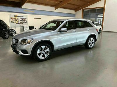 gebraucht Mercedes 220 GLC4M Exclusive Int.+Ext. Comand