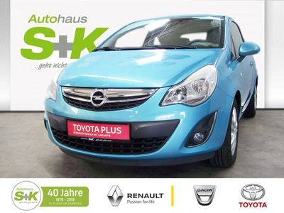 gebraucht Opel Corsa SATELLITE LIMOUSINE 3-TüR 1,2L 16V ECOFLE