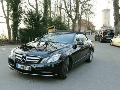 gebraucht Mercedes E220 CDI DPF Cabrio BlueEFFICIENCY Avantgarde