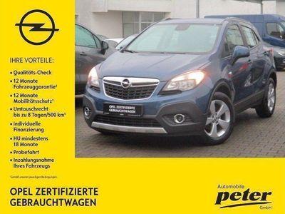 gebraucht Opel Mokka 1.6 CDTI Edition Euro6 Sitzhzg./Parktronic/DPF