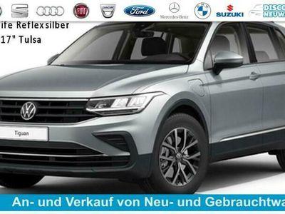 "gebraucht VW Tiguan Life 1.4 eHybrid 245 PS DSG, Modell 2022, 5 Jahre Garantie, Sitz- u. Lenkradheizung, Alarmanlage, Klimaautomatik 3-Zonen, App Connect, Alus 17"" Montana, DAB+, LED-Scheinwerfer, Einparkhilfe vo. + hi., Dachreling..."