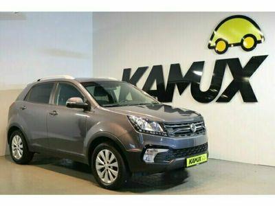 gebraucht Ssangyong Korando 2.2 Diesel e-XDi 220 Quartz 2WD+Navi+AHK