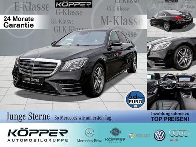 gebraucht Mercedes S450 AMG Grand Edition 4MATIC lang Line LED-ILS