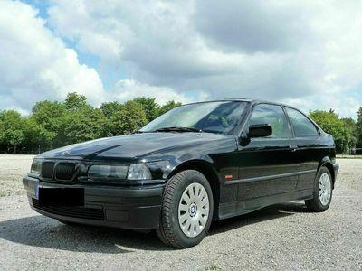 gebraucht BMW 316 i, orig. 82 400 km, schwarz, gepflegt