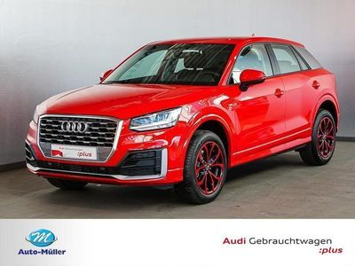gebraucht Audi Q2 Sport 1.4 TFSI s tronic S line LED AHK Comfor