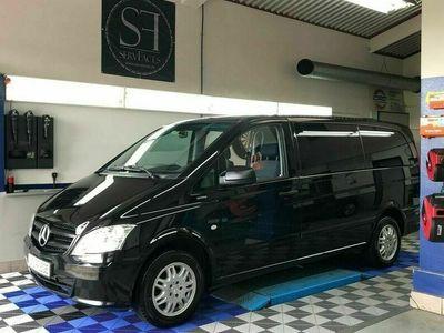 gebraucht Mercedes Viano Vito 113 CDI Lang, 7 Sitze, Shuttle, ähnl