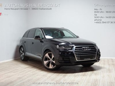 gebraucht Audi Q7 3.0 TDI quattro S-line/Allradlenk./Night/HUD