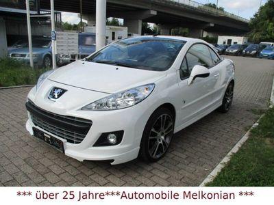 gebraucht Peugeot 207 CC Platinum*Black & White Edition*1 Hand*