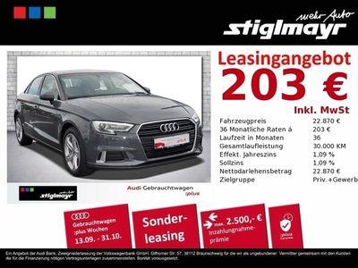 gebraucht Audi A3 Limousine Sport 1.5 TFSI Navi+Sportsitze+Xeno