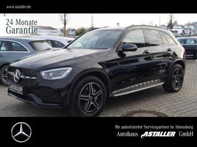 gebraucht Mercedes 400 GLCd 4M AMG+Night+Exclusiv+19''+Pano+Trittb