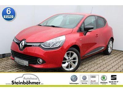 gebraucht Renault Clio IV 0.9TCe 90 Limited Energy Navi Bluetooth (Klima