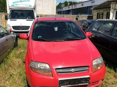 gebraucht Chevrolet Kalos 1.4 16V SX Sport Spoiler Panoramadach Rot als Kleinwagen in Mechernich