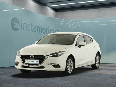 gebraucht Mazda 3 3Exclusive LED Navi Sitzheizung PDC DAB FSE LM
