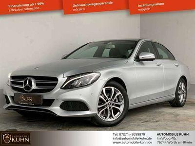 gebraucht Mercedes C180 CGI*AVANTGARDE*LIM*NAVI*LED*PARK ASS.*