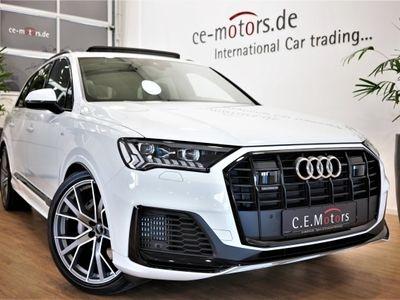 """gebraucht Audi Q7 55 3.0TFSI Black S-Line*7-Sitze*Matrix*22"""" als SUV/Geländewagen/Pickup in Sinzig"""