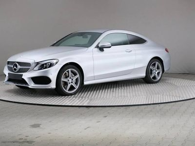 gebraucht Mercedes C220 d Coupe 9G-TRONIC AMG Line LED