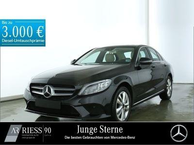 gebraucht Mercedes C220 d 4MATIC Avantgarde+Comand+Spur-P.+LED