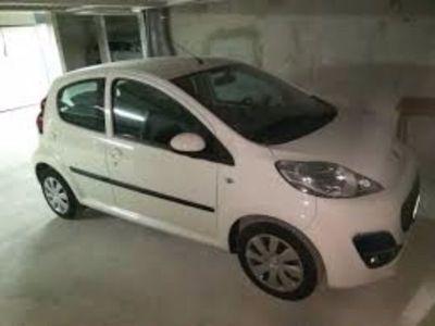 gebraucht Peugeot 107 Up Top Weiß 1 Hand mit Servo 5 Tür